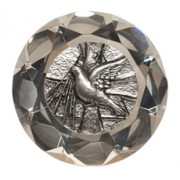 Confirmation Dove Paper Weight Large