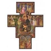 "St.Francis Cross cm.16- 6 1/2"""