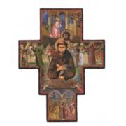 "St.Francis Cross cm.9.5 - 3 3/4"""