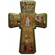 Eternal Father Cross cm.68.5 - 27""