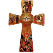 Holy Spirit Cross cm.12 - 5""