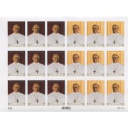 "Pope Francis 18 Stickers cm.12x16 - 5""x6"""