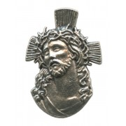 Ecce Homo Lapel Pin Pewter mm.21 - 3/4""