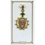 "Chalice Enamel Plaque Medal mm.25 - 1"""