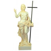 Resin Statue of Risen Christ cm.22 - 8 1/2""