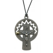 """Rosary Crucifix Pendent with Cord mm.52- 2"""""""