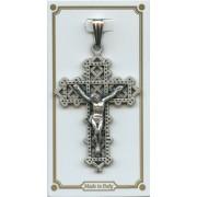 """Pocket Crucifix mm.35 - 1 3/8"""""""