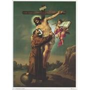 "St.Francis Cross Print cm.19x26 - 7 1/2""x 10 1/4"""