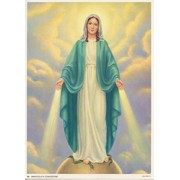 "Immaculate Conception Print cm.19x26 - 7 1/2""x 10 1/4"""