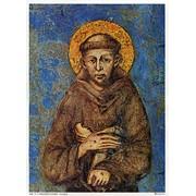 "St.Francis Print cm.19x26 - 7 1/2""x 10 1/4"""