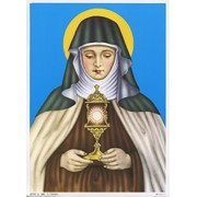 """St.Claire Print cm.19x26 - 7 1/2""""x 10 1/4"""""""
