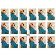 """Feruzzi 18 Stickers cm.12x16 - 5""""x6"""""""