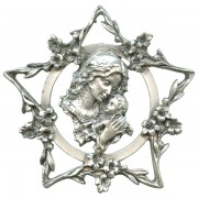 Mother and Child Pewter Medal