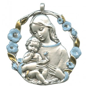 http://monticellis.com/1745-1816-thickbox/mother-and-child-pewter-medal-silver-plated-blue-and-gold-cm65.jpg