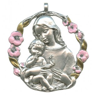 http://monticellis.com/1746-1817-thickbox/mother-and-child-pewter-medal-silver-plated-pink-and-gold-cm65.jpg