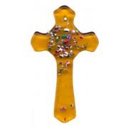 """Topaz Murano Cross Long cm.5 - 2"""""""