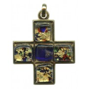 Murano Venetian Glass Cross Hand Made