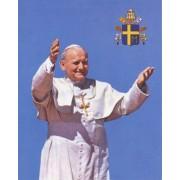 "Pope John Paul II High Quality Print cm.20x25- 8""x10"""