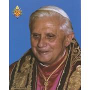 "Pope Benedict High Quality Print cm.20x25- 8""x10"""