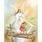 "Guardian Angel High Quality Print cm.20x25- 8""x10"""