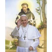 "Pope Francis/ St.Francis High Quality Print cm.20x25- 8""x10"""