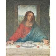 "Last Supper Jesus High Quality Print cm.20x25- 8""x10"""