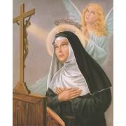 """St.Rita High Quality Print cm.20x25- 8""""x10"""""""