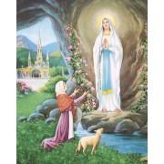 """Lourdes High Quality Print cm.20x25- 8""""x10"""""""