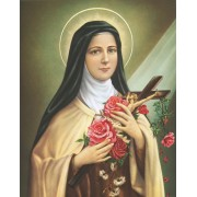 "St.Theresa High Quality Print cm.20x25- 8""x10"""