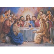 "Last Supper High Quality Print cm.20x25- 8""x10"""