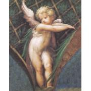 """Angel Boy High Quality Print cm.20x25- 8""""x10"""""""