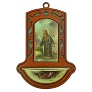 "St.Francis Brown Water Font cm.9x13 - 3 1/2""x5"""