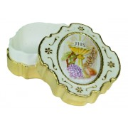 "Communion Rosary Box cm.4.2 x 4.5 - 1 1/2"" x 1 3/4"""