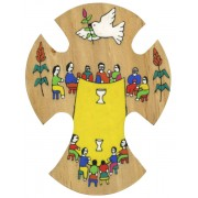 El Salvador Wood Cross cm.15 - 6""