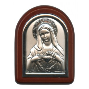 http://monticellis.com/2570-2752-thickbox/immaculate-heart-of-mary-plaque-with-stand-brown-frame-cm-6x7-2-1-4x2-3-4.jpg