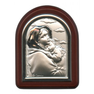 http://monticellis.com/2575-2757-thickbox/ferruzzi-plaque-with-stand-brown-frame-cm-6x7-2-1-4x2-3-4.jpg