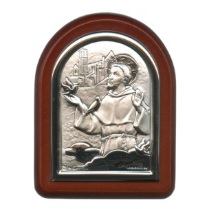 http://monticellis.com/2580-2762-thickbox/stfrancis-with-guardian-angel-plaque-with-stand-brown-frame-cm-6x7-2-1-4x2-3-4.jpg