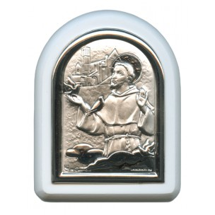 http://monticellis.com/2581-2763-thickbox/stfrancis-with-guardian-angel-plaque-with-stand-white-frame-cm-6x7-2-1-4x2-3-4.jpg