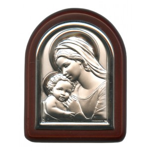 http://monticellis.com/2584-2766-thickbox/mother-and-child-plaque-with-stand-brown-frame-cm-6x7-2-1-4x2-3-4.jpg