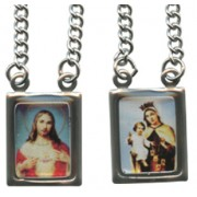 "Metal Scapular 1.5cm - 5/8"" Colour Pictures"