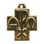 Pax Cross Gold Plated mm.20- 3/4""