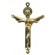 Millenium Cross Gold Plated mm.50 - 2""