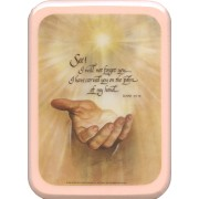 "Isaiah 49:15 Prayer Plaque cm. 21x29- 8 1/2""x 11 1/2"""