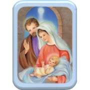 "Holy Family Plaque cm. 21x29- 8 1/2""x 11 1/2"""