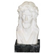Bust of Jesus (With Base) cm.12 - 4 3/4""