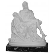 Pieta (With Base) cm.19- 7 1/2""