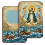 "Our Lady of Cobre 3D Bi-Dimensional Cards cm.5.5x8.2- 2 1/8""x 3 1/4"""