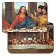 "The Last Supper 3D Bi-Dimensional Cards cm.5.5x8.2- 2 1/8""x 3 1/4"""