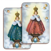 "Baby of Prague 3D Bi-Dimensional Cards cm.5.5x8.2- 2 1/8""x 3 1/4"""