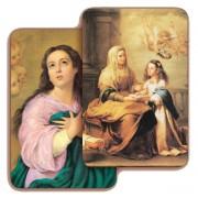 """St.Anne 3D Bi-Dimensional Cards cm.5.5x8.2- 2 1/8""""x 3 1/4"""""""